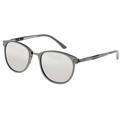 Breed Orion Aluminium Polarized Sunglasses - Gunmetal/Silver