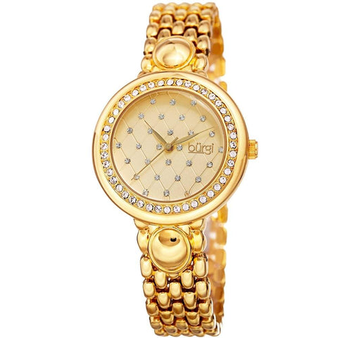 Burgi Women's Watch BUR170YG
