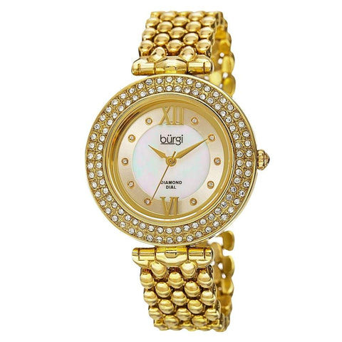 Burgi Women's Watch BUR126YG