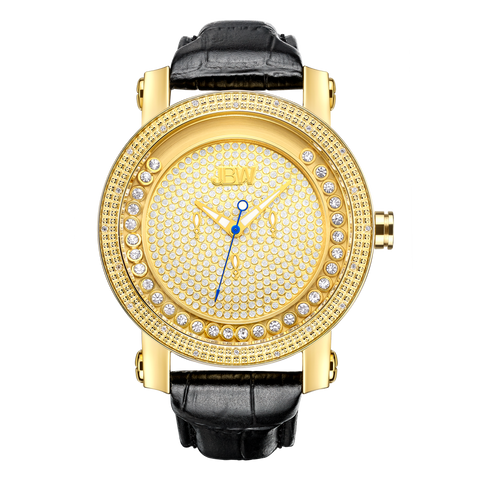 JBW Women's Victory 0.80 ctw 18k gold-plated stainless-steel Diamond Watch JB-6211L-A