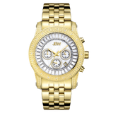 JBW Men's Krypton 0.20 ctw 18k gold-plated stainless-steel Diamond Watch JB-6219-F