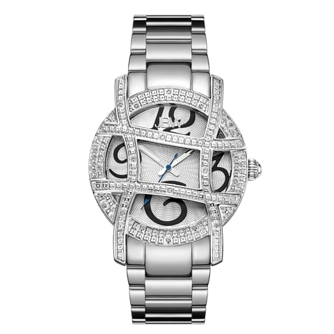 JBW Women's Olympia 0.20 ctw Stainless Steel Diamond Watch JB-6214-B