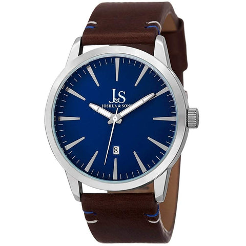Joshua & Sons Men's Watch JS86SSBU