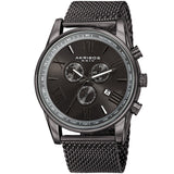 Akribos XXIV Men's Swiss Multifunction Mesh Bracelet Watch AK813GN