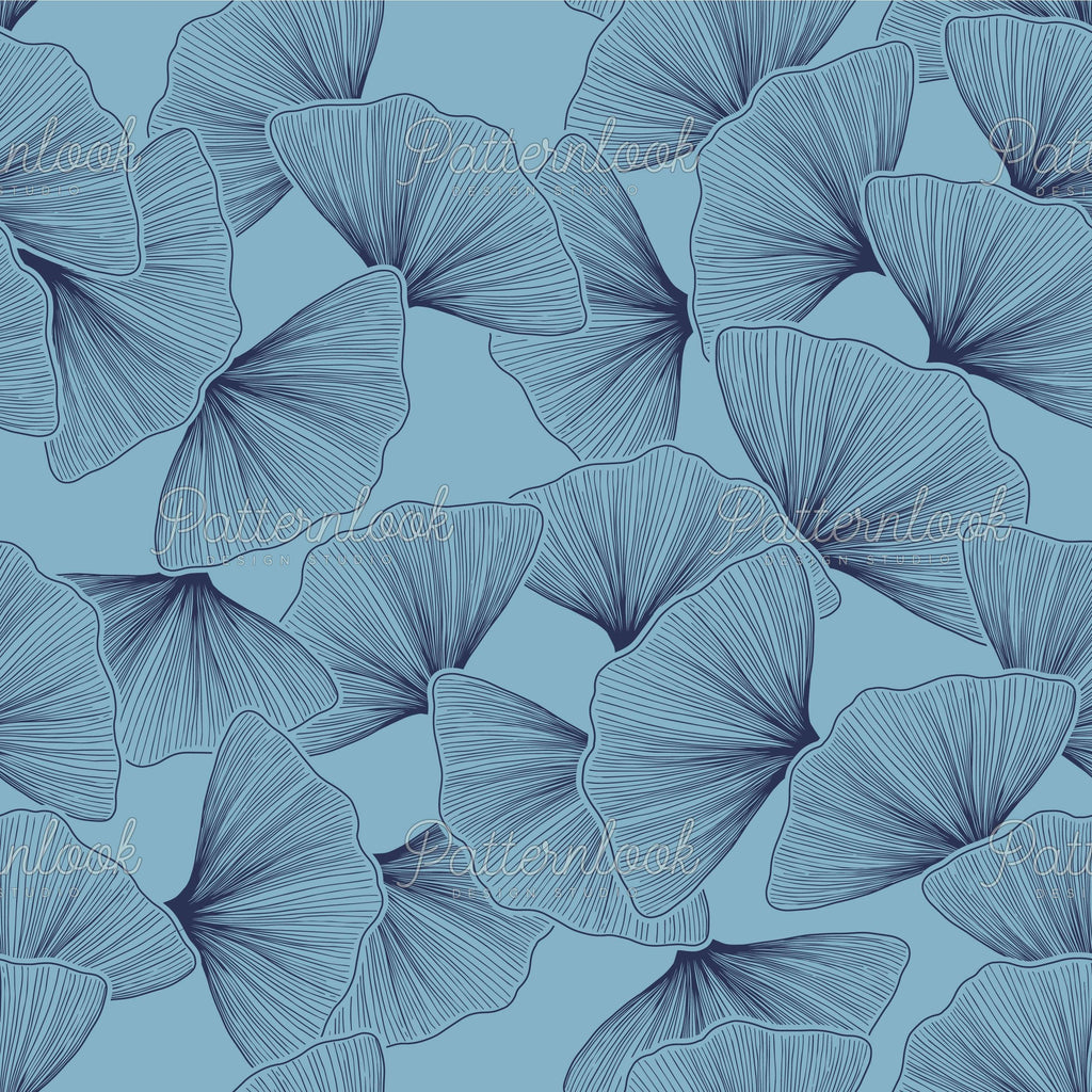 Explore & buy seamless patterns - Patternlook Design Studio specialized in creating unique and trend driven seamless pattern designs for the fashion and lifestyle industries. Traditional garden leaves. Surface pattern designer.