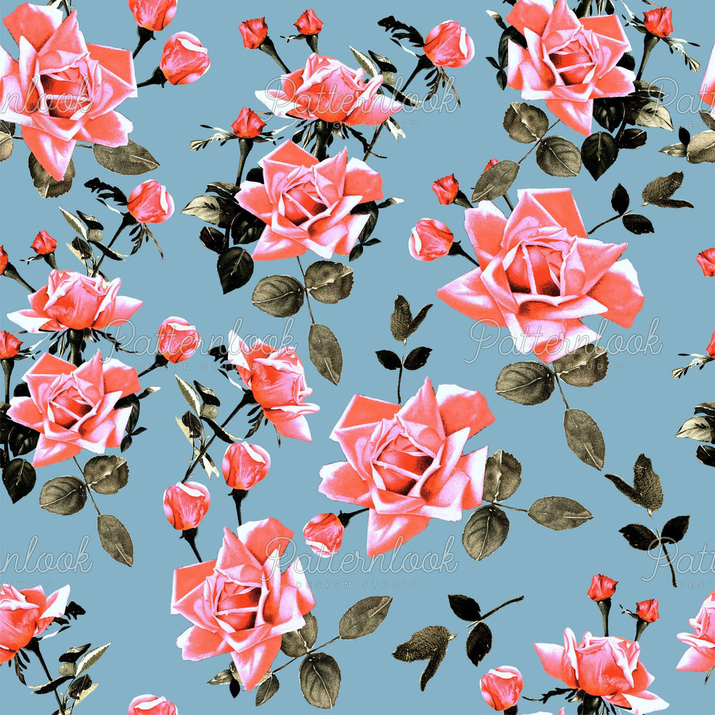 Patternlook Design Studio - Buy seamless surface patterns. We create beautiful, unique and trend driven seamless pattern & print designs for the fashion and lifestyle industry - selling to leading fashion houses, retailers and manufacturers globally. Bright blooms, flower, tropical, botanic, textile, patterns.