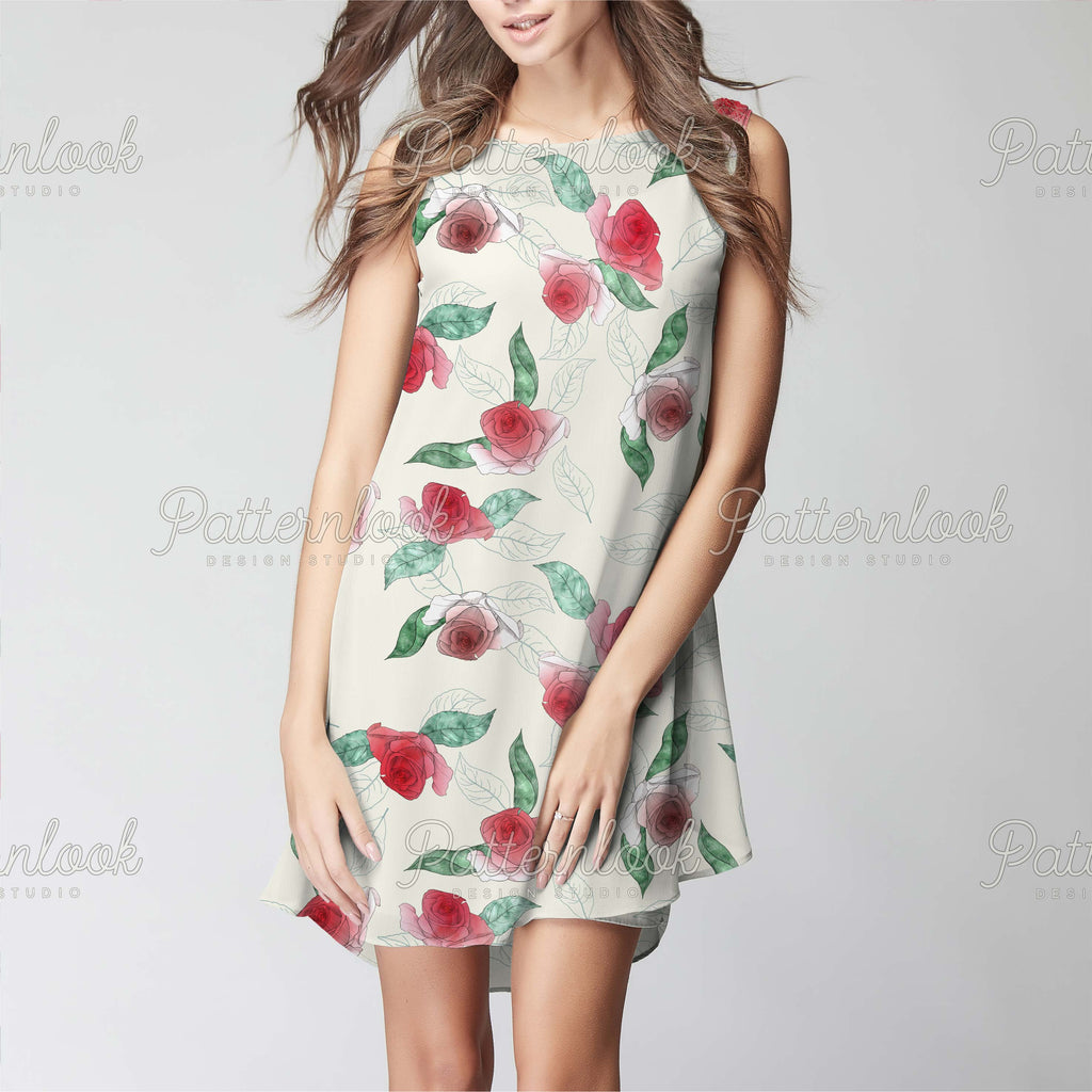 Patternlook Design Studio - Buy seamless surface patterns. We create beautiful, unique and trend driven seamless pattern & print designs for the fashion and lifestyle industry - selling to leading fashion houses, retailers and manufacturers globally. Spring blooms, flower, flowers, botanic, nature, leave, garden, patterns.