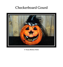 Checkerboard Gourd Packet: Standard (Print & Ship)