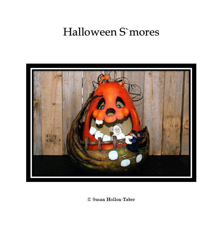 Halloween S`mores Packet: Standard (Print & Ship)