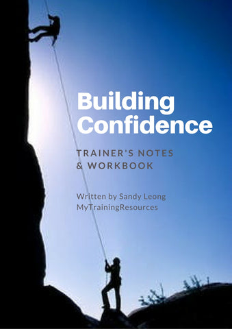 Building Confidence Trainer's Notes & Workbook