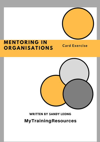 Mentoring in Organisations Card Exercise
