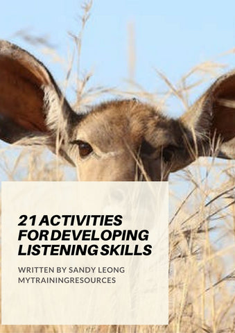 21 Activities for Developing Listening Skills
