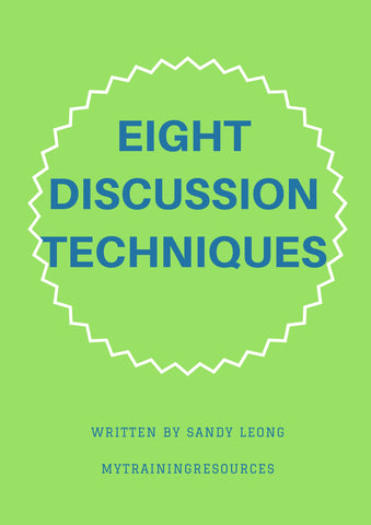 Eight Discussion Techniques