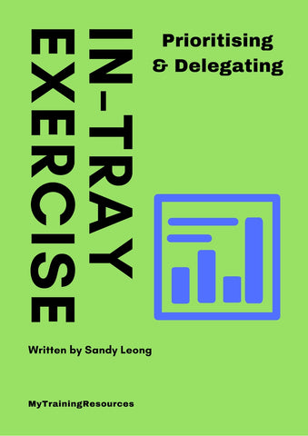 Prioritising & Delegating In-Tray Exercise