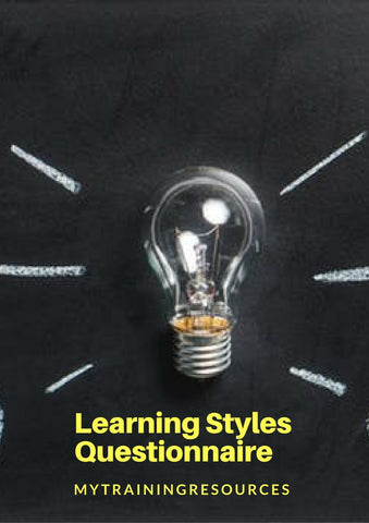 A Learning Styles Questinnaire
