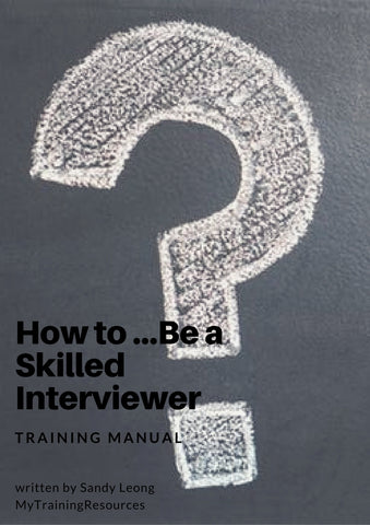 how to Be a Skilled Interviewer