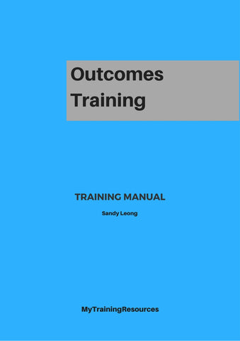 Outcomes Training Training Manual