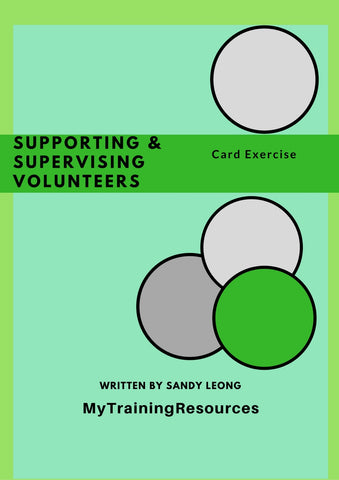 Supporting & Supervising Volunteers Card Exercise