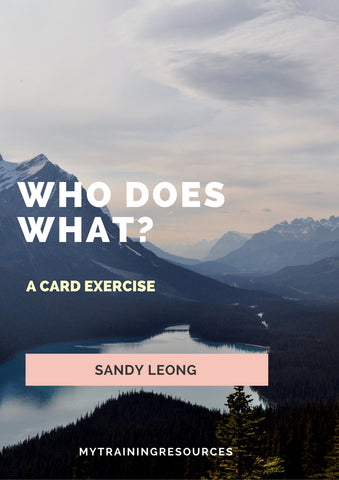 Who Does What? A Card Exercise for training trustees