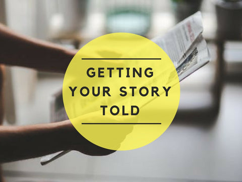 Getting Your Story Told PowerPoint