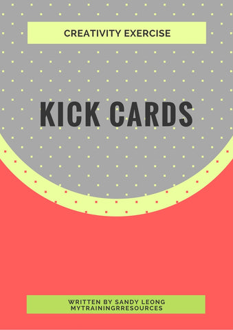 Kick Cards Exercise