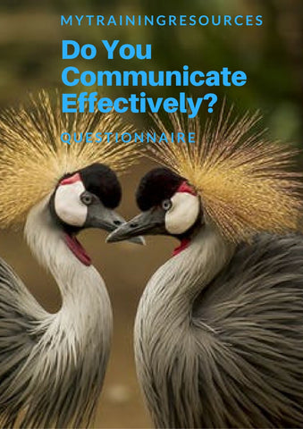 Do you communicate effectively