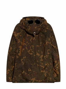 C.P. Company Camo Down Filled Goggle Jacket - Brown