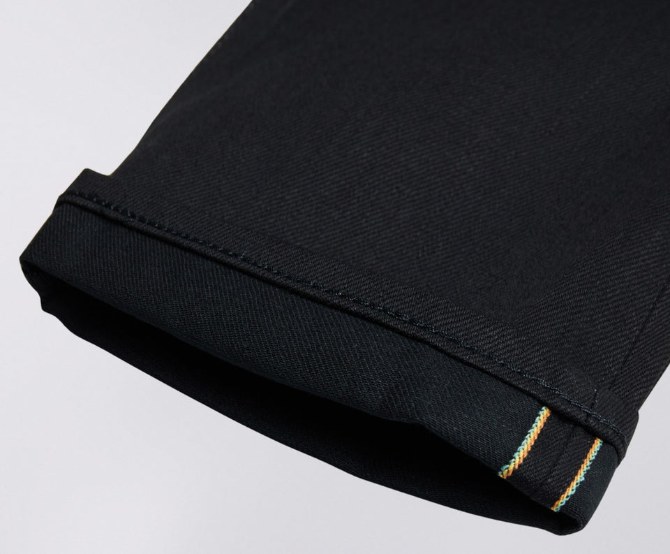 Edwin Made in Japan Rainbow Selvedge - Black