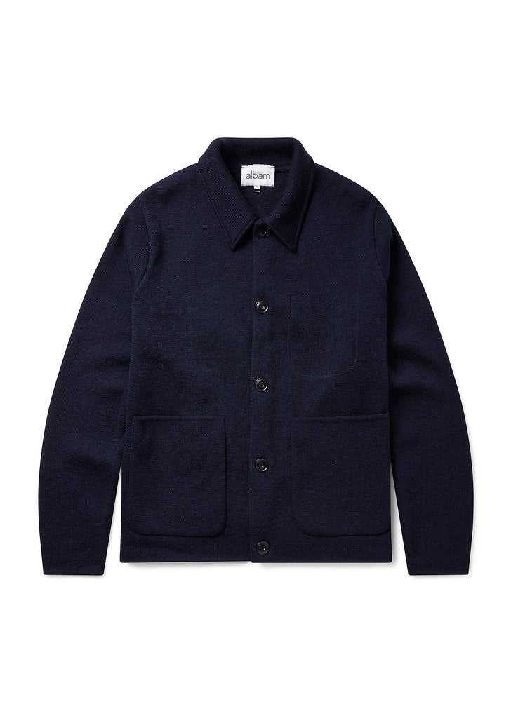 Albam Milano Work Jacket - Navy