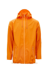 Rains Breaker Jacket - Fire Orange