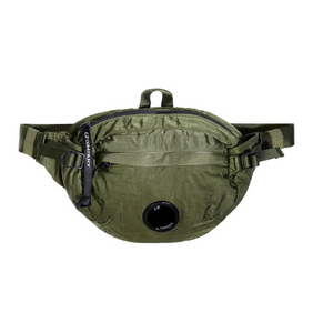 C.P. Company GD Sateen Lens Waist Bag - Pesto