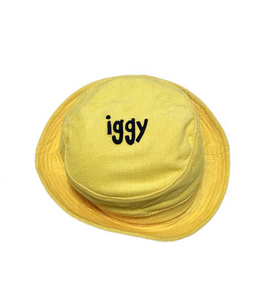 Iggy NYC Corduroy Bucket Hat - Yellow