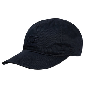 C.P. Company Embroidered Logo Baseball Cap - Total Eclipse