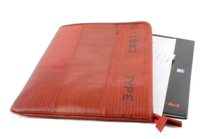 Elvis & Kresse Folio & Laptop Case - Red