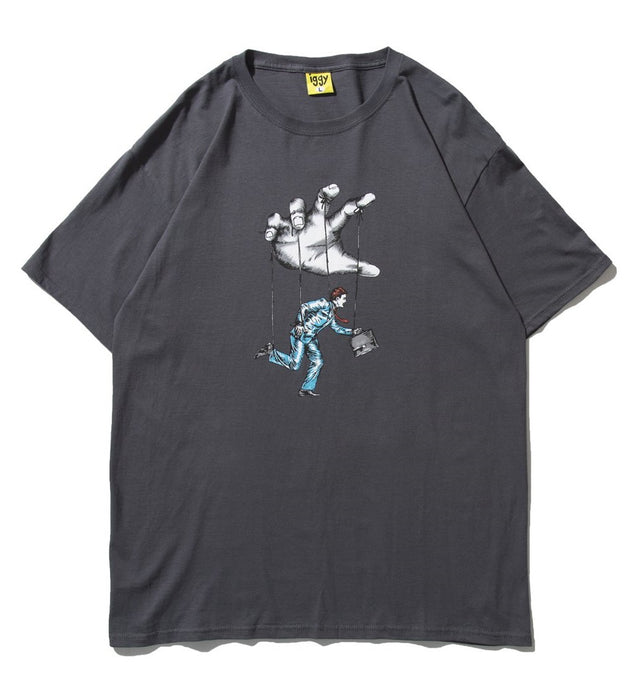 Iggy NYC Footloose T-Shirt - Dark Grey