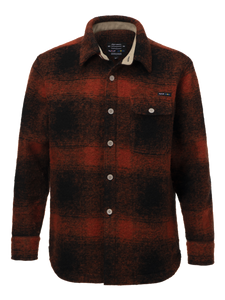 Nigel Cabourn x Peak Performance CPO Shirt - Survival Orange