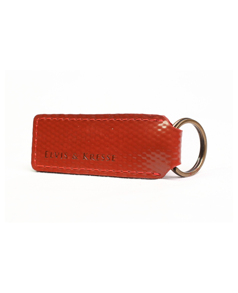 Elvis & Kresse Key Ring - Red