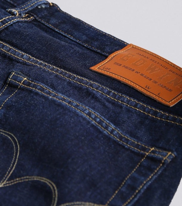 Edwin Made in Japan Rainbow Selvedge - Washed