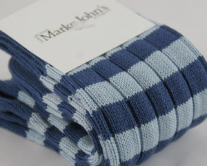 Marko John's Stripe Socks - Oxbridge