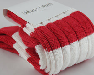 Marko John's Stripe Socks - Potters