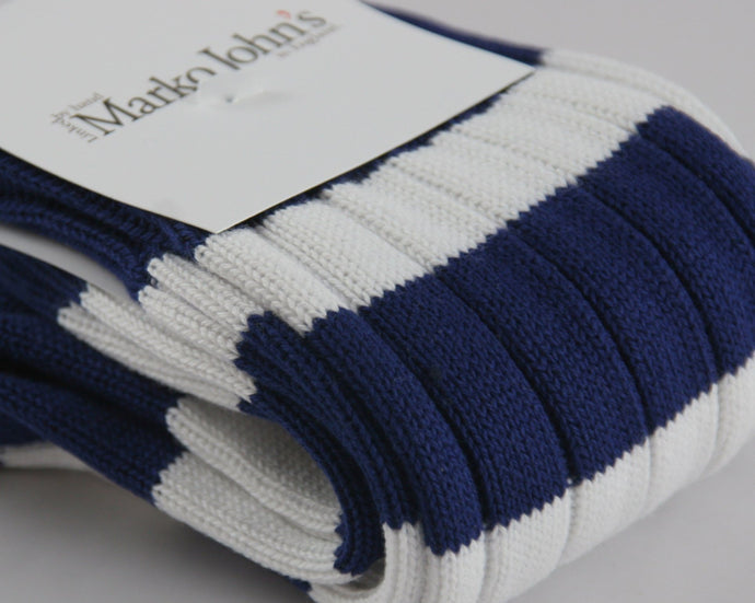 Marko John's Stripe Socks - Queen's College