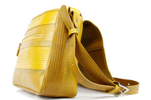 Elvis & Kresse Messenger Bag - Yellow