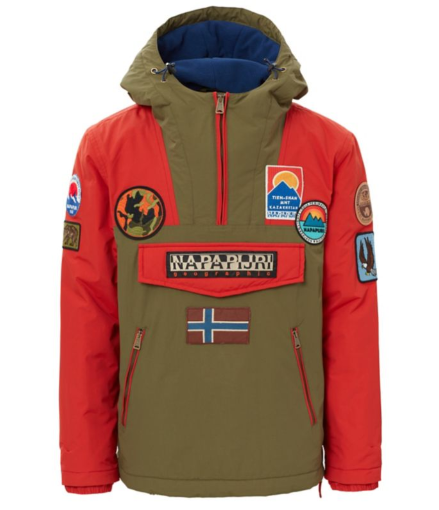 Napapijri Rainforest Multi Patch Jacket - Multicolour