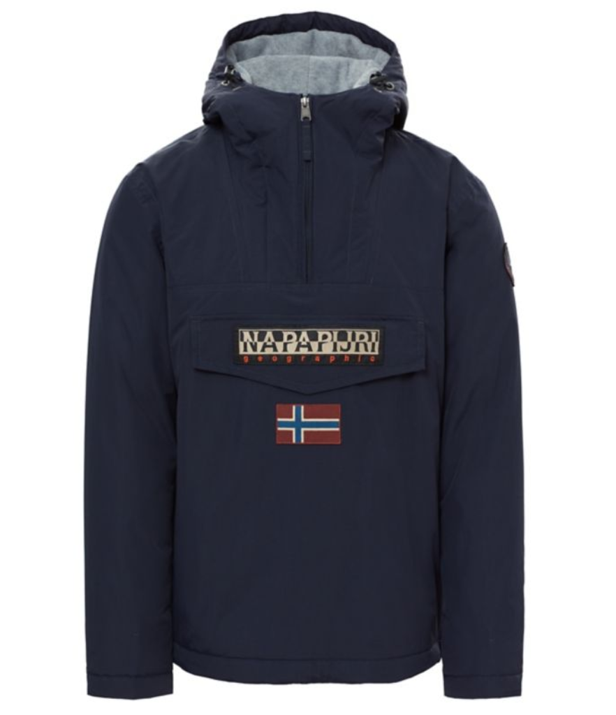 Napapijri Rainforest Winter Jacket - Dark Blue