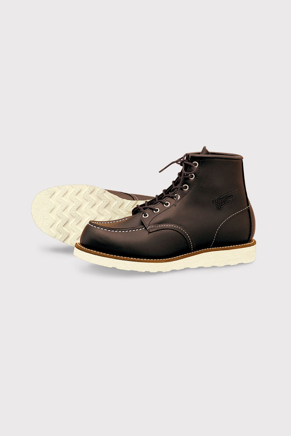 Classic Moc Toe Charcoal Rough