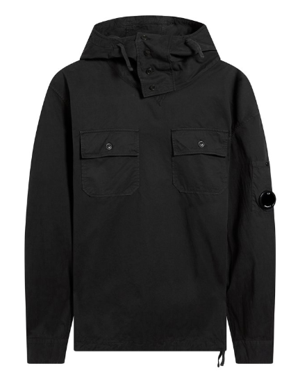 C.P. Company Arm Lens Smock - Black Coffee