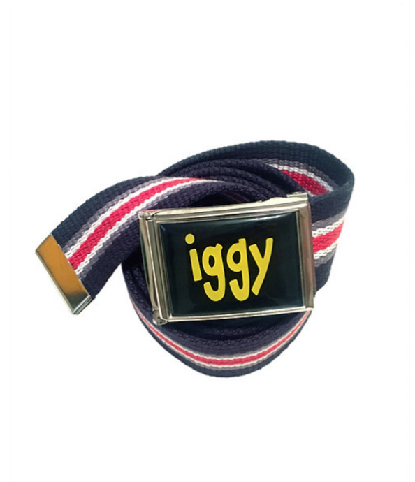 Iggy NYC Flip Top Belt - Striped