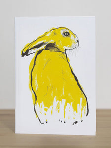 Tiff Howick Greeting Card - Hare