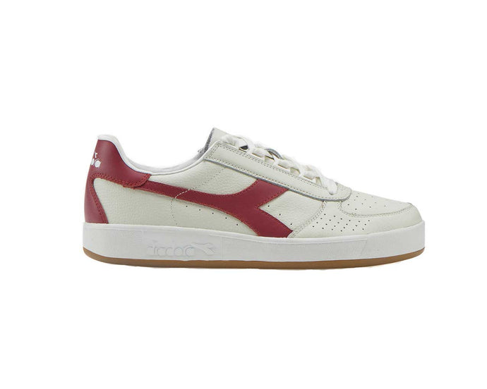 Diadora B.Elite L - White / Tibetan Red