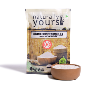Naturally Yours Sprouted Ragi Flour - 250gm